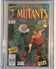 The New Mutants #86 MARVEL COMICS 2/90 9.4 CGC WHITE PAGES