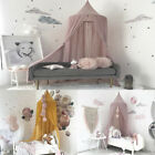 Kids Baby Bedding Round Dome Bed Canopy Netting Bedcover Mosquito Net Curtain US image