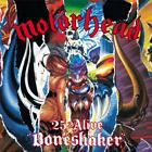 Motörhead - 25 & Alive Boneshaker - New CD + DVD Album - Released 29/03/2019