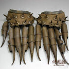 Antique collection archaize ware hawk grasp protective sleeve iron claw gloves