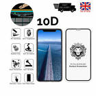 NEW 10D Tempered Glass Full Screen Protector Cover for iPhone 6,7,XS,XR,XS Max,X