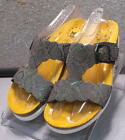 HOLLY TAUPE IRID LMSPSA60 Women's Shoes Size 7 Eur 4.5 Leather Sandals MEPHISTO