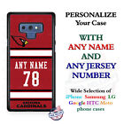 ARIZONA CARDINALS FOOTBALL JERSEY NFL PHONE CASE COVER FITS iPHONE SAMSUNG etc $26.98 USD on eBay
