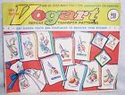 VOGART TRANSFER PATTERNS  FRUITS AND VEGETABLES - VINTAGE