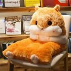 Cute Hamster Backrest Seat Cushion Plush Toy Pillows