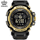 SMAEL Men Smart Watches Bluetooth Male LED Digital Pedometer Sport Wristwatches image