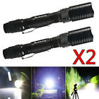 Tactical Police 300000Lumens T6 18650 LED Flashlight Aluminum Torch Zoomable USA