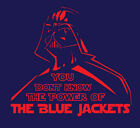 Darth Vader Columbus Blue Jackets shirt Star Wars NHL Hockey Panarin Bobrovsky $22.0 USD on eBay