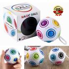 Educational Rainbow Ball Magic Cube Speed Twist Puzzle Intelligence Toys Gift H1