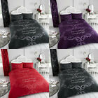2019 Duvet Cover & Pillowcase Bedding Set Luxury Quality Quilt Cover GOOD NIGHT image