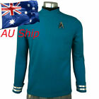 Star Trek Beyond Spock Blue Shirt Cosplay Star Trek Science Officer Uniform Pin on eBay