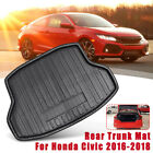 New Tray Boot Liner Cargo Rear Trunk Mat For Honda Civic 2016 2017 2018
