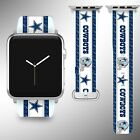 Dallas Cowboys Apple Watch Band 38 40 42 44 mm Series 5 1 2 3 4 Wrist Strap 05 $29.99 USD on eBay