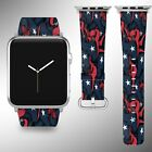 Houston Texans Apple Watch Band 38 40 42 44 mm Series 1 2 3 4 Wrist Strap 04 on eBay