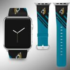 Jacksonville Jaguars Apple Watch Band 38 40 42 44 mm Series 1 - 4 Wrist Strap 05 on eBay