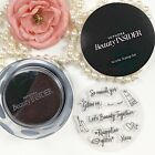 SEPHORA BEAUTY INSIDER COLLECTIBLE ACRYLIC BLACK INK STAMP SET NEW