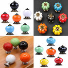1PC Candy Color Ceramic Round Cabinet Wardrobe Drawer Cupboard Knob Pull Handle