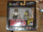 The WALKING DEAD MINIMATES RICK GRIMES and VACATION ZOMBIE COMIC CON EXCLUSIVE