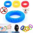 10X Anti Mosquito Bug Pest Repel Wrist Band Bracelet Insect Repellent Camping ZH
