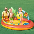 Kids Swimming Pool Safety Inflatable Bath Tub Portable Outdoor Summer Bathtub