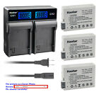 Kastar Battery LCD Rapid Charger for Canon LP-E8 LPE8 Canon EOS Rebel T5i Camera
