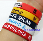 Real Madrid FC Barcelona Liverpool Chelsea CR7 MESSI Wristband Bands Bracelet