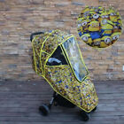 Universal Baby Toddler Infant Stroller Weather Shield Rain Cover  Proof