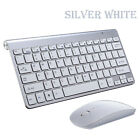 Wireless USB 2.4GHZ Keyboard and Mouse Slim Combo Set for PC Gaming Computer US