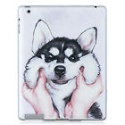 Slim Soft Silicone TPU Rubber Case Cover For iPad 2/3/4 Air/Air2 Mini Pro 9.7""
