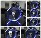 Future GPX Cyber Formula gift Crystal Key Chain LED light Pendant keyring