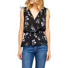 Gentle Fawn Collection New With Tags Jody Top Black Floral