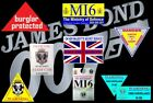 JAMES BOND OO7 .... DECAL COLLECTION $7.91 CAD on eBay