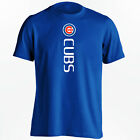 Chicago Cubs T-Shirt - World Series Champs Cubs Vertical Design - S-5XL on Ebay