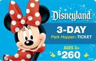 DISNEYLAND CALIFORNIA PARK HOPPER 2 TO 5 DAY Ticket Discount TOOL