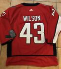 #43 Tom Wilson Washington Capitals Jersey - Stanley Cup Championship Patch - XXL $75.0 USD on eBay