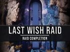 LAST WISH FULL RAID and double chest (Recovery services) Destiny 2