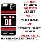 ATLANTA FALCONS JERSEY PHONE CASE COVER FOR iPHONE SAMSUNG etc NAME $26.98 USD on eBay