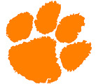 Clemson Tigers Paw Logo Vinyl Decal Window Sticker Clemson Tigers!!!
