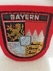 Vintage German Bayern Bavarian Travel Embroidered Souvenir Patch V-4