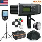 Godox AD600BM 600W HSS 1/8000s Open-air Studio Flash Strobe+ Package +Softbox+Filter