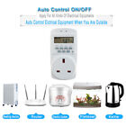 Digital Timer Plug Electronic Smart Socket Outlet Switch Programmable Kitchen US photo