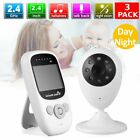 "3 X Baby Monitor Camera 2-Way 2.4"" Digital Wireless Night Vision LCD Play MA"