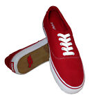 Tony Hawk Thhedgered Sneakers Red Canvas Shoes Men's