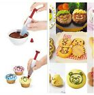 Silicone Food Writing Pen Cake Cookie Cream Pastry Chocolate Decorating Pen KI