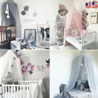 Baby Kids Mosquito Net Bed Home Bedding Chiffon Canopy Elegant Netting Princess image