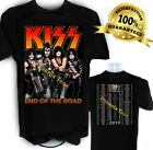 Kiss t shirt  2019 End of the Road Concert Tour including EUROPE DATES t shirt image