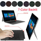 For Microsoft Surface Pro 2018 2017 / Pro 4/3 7-Color Backlit Bluetooth Keyboard