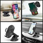 Qi Wireless Charger Car Bracket Mount Holder for Apple iPhone X XS Samsung S10+