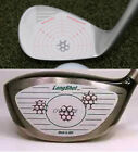 Golf Club Driver Wood Iron Training. Aid Sticker Impact Face Tape Recorder Label