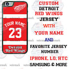 DETROIT RED WINGS HOCKEY DESIGN PHONE CASE COVER FOR iPHONE SAMSUNG etc NAME $18.98 USD on eBay